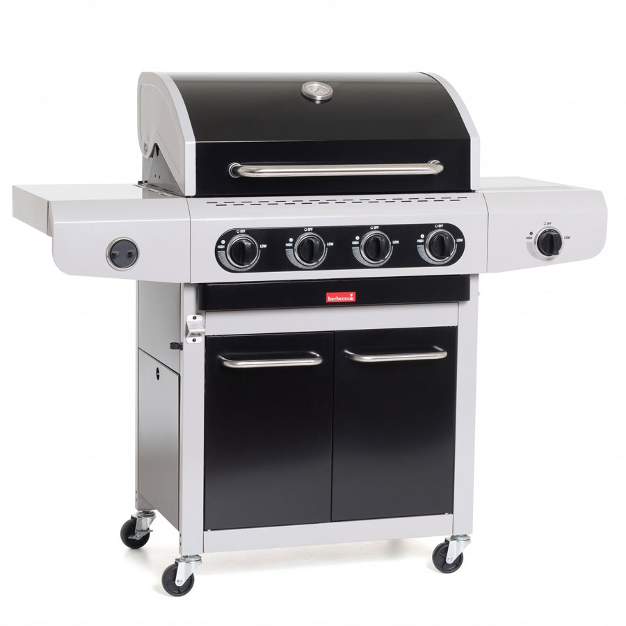 BARBECOOK BELGIUM Gas BBQ Siesta 412 Black Edition