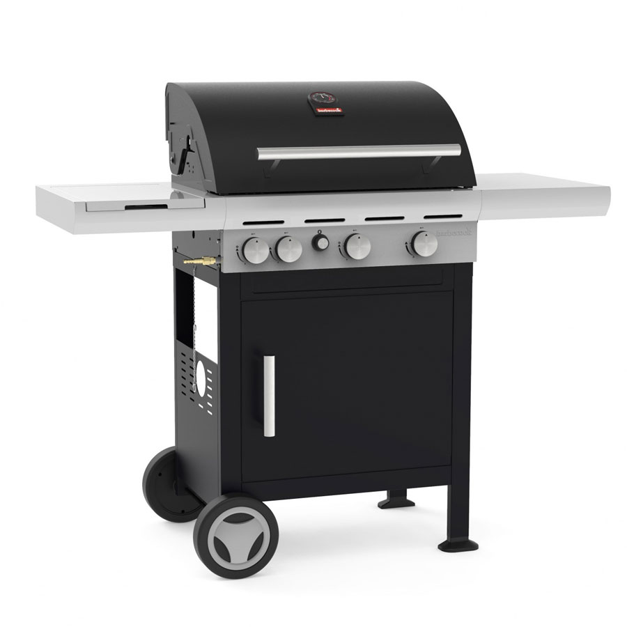 BARBECOOK BELGIUM Gas BBQ Spring 3212 with Side Burner