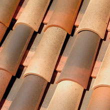 LA ESCANDELLA Roof Tiles Tossal Curved