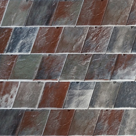 ESCANDELLA Grey Vermont Visum3 Roof Tile