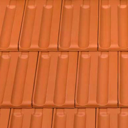 TONDACH Red Jupiter Clay Roof Tile