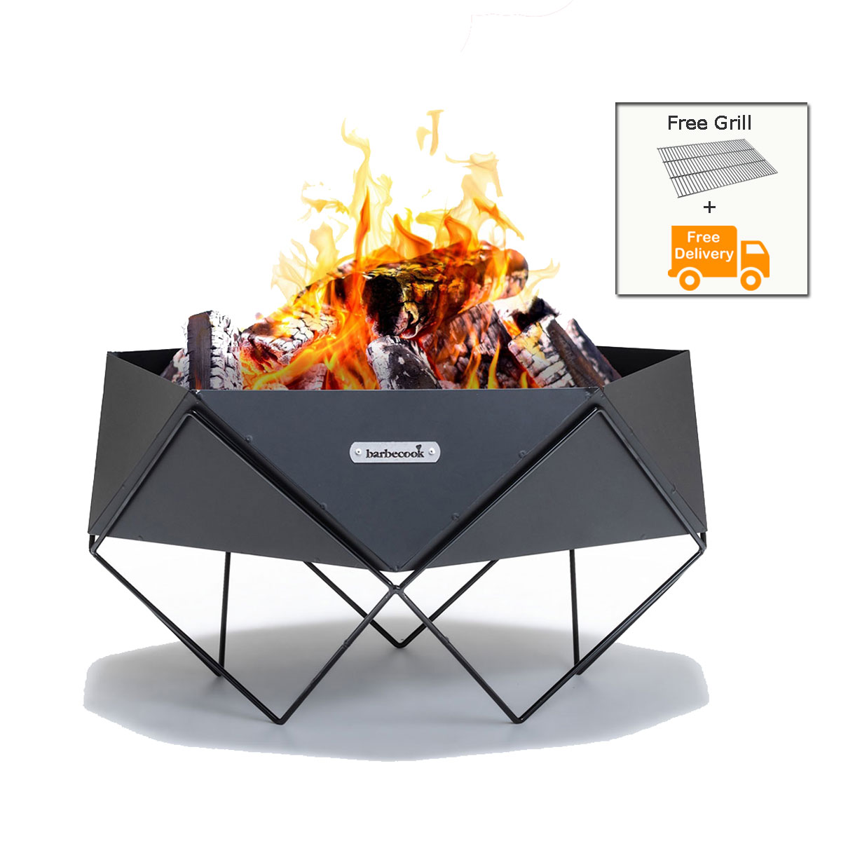 BARBECOOK BELGIUM Fire Pit BBQ Ural