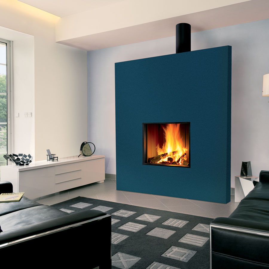 FOCUS Fireplaces Unifocus 13 and 70, Wood and Gas ...