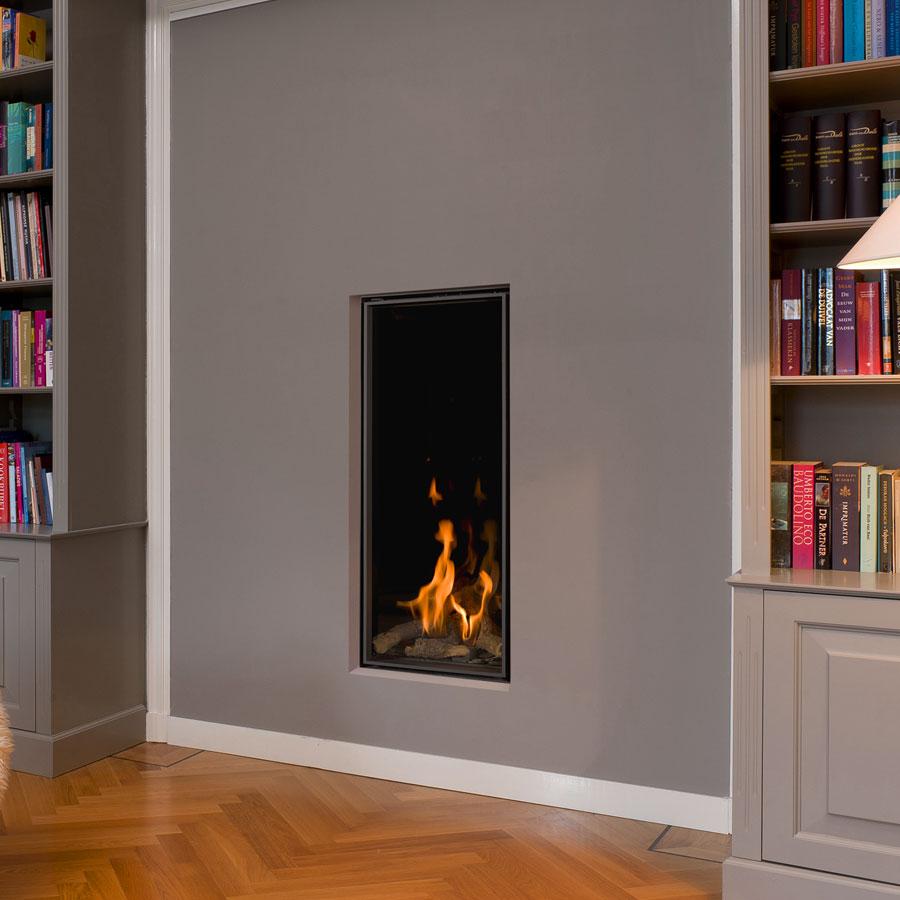 BELLFIRES Fireplaces Vertical Bell Medium 3 (47 x 135 cm)