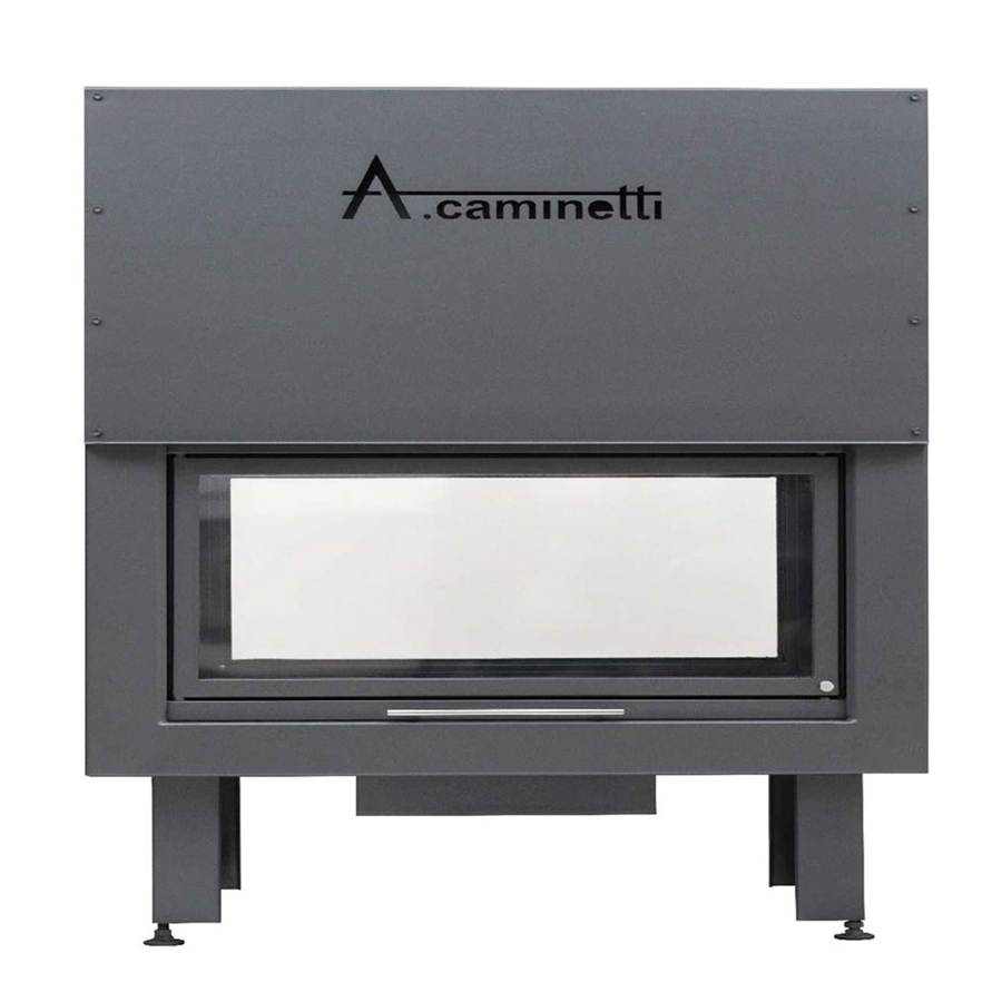 ACAMINETTI Wood Fireplace Horizon 170 Tunnel