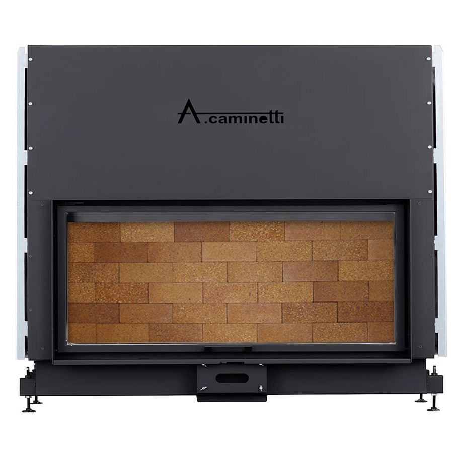 ACAMINETTI Wood Fireplace Horizon 170 Rustic