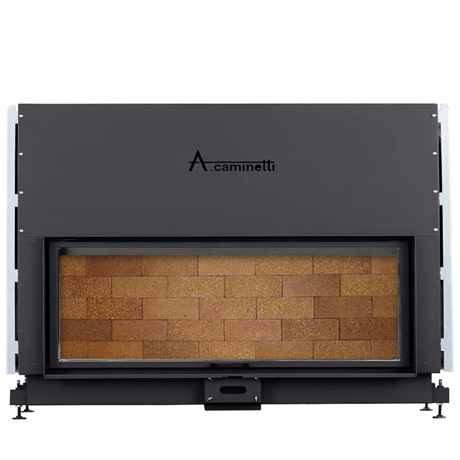 ACAMINETTI Wood Fireplace Horizon 200 Rustic