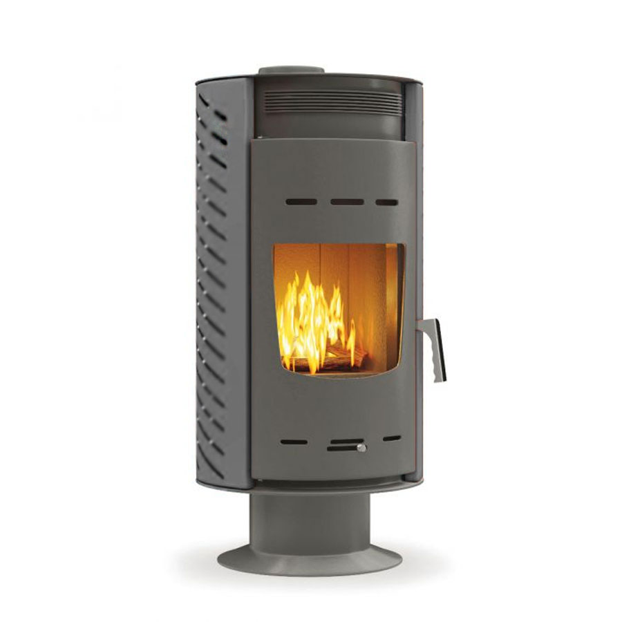 THERMIKI Wood Stove Boiler Zero Aero + Fan
