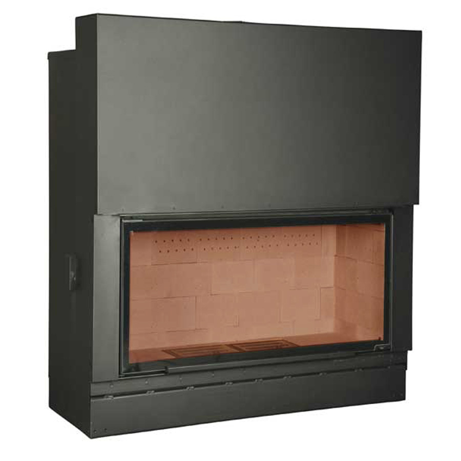 AXIS FRANCE Wood Fireplace F160 Yellow Brick