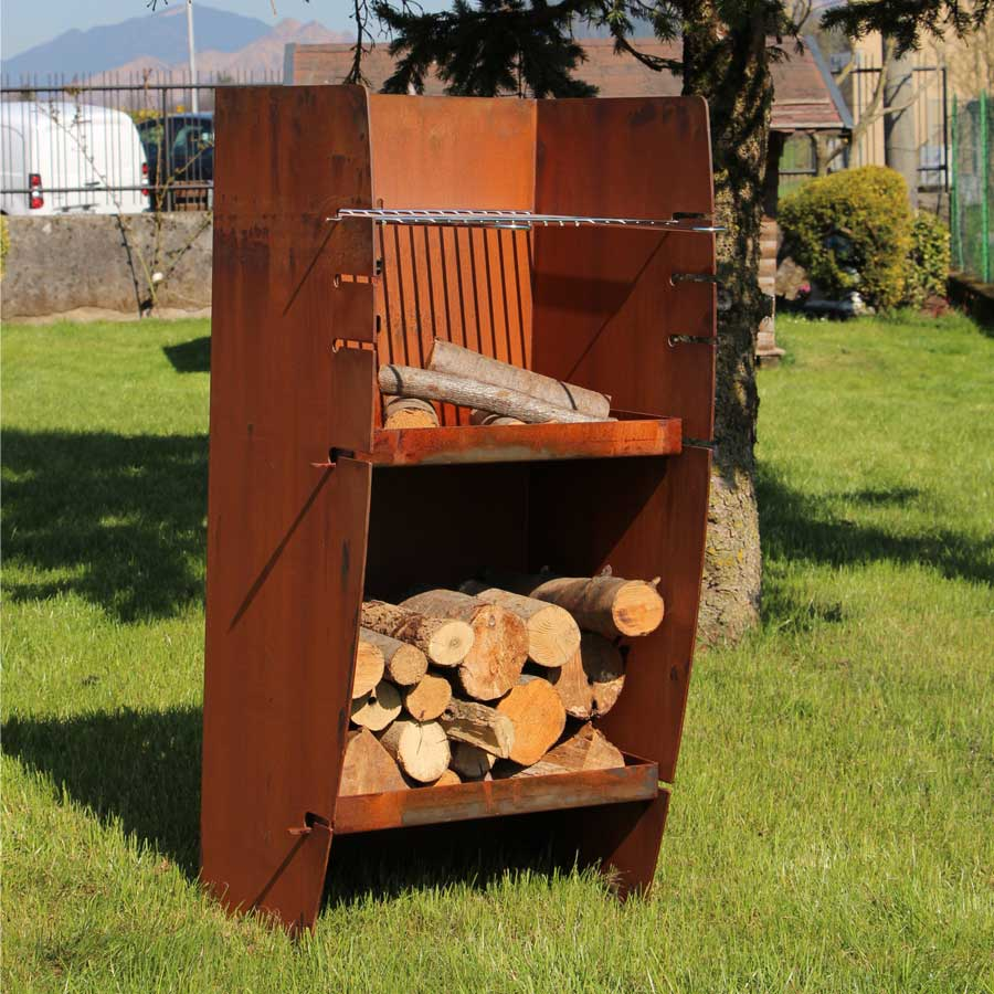 LAFERRO ITALY Barbecue Bond Mini Ruggine