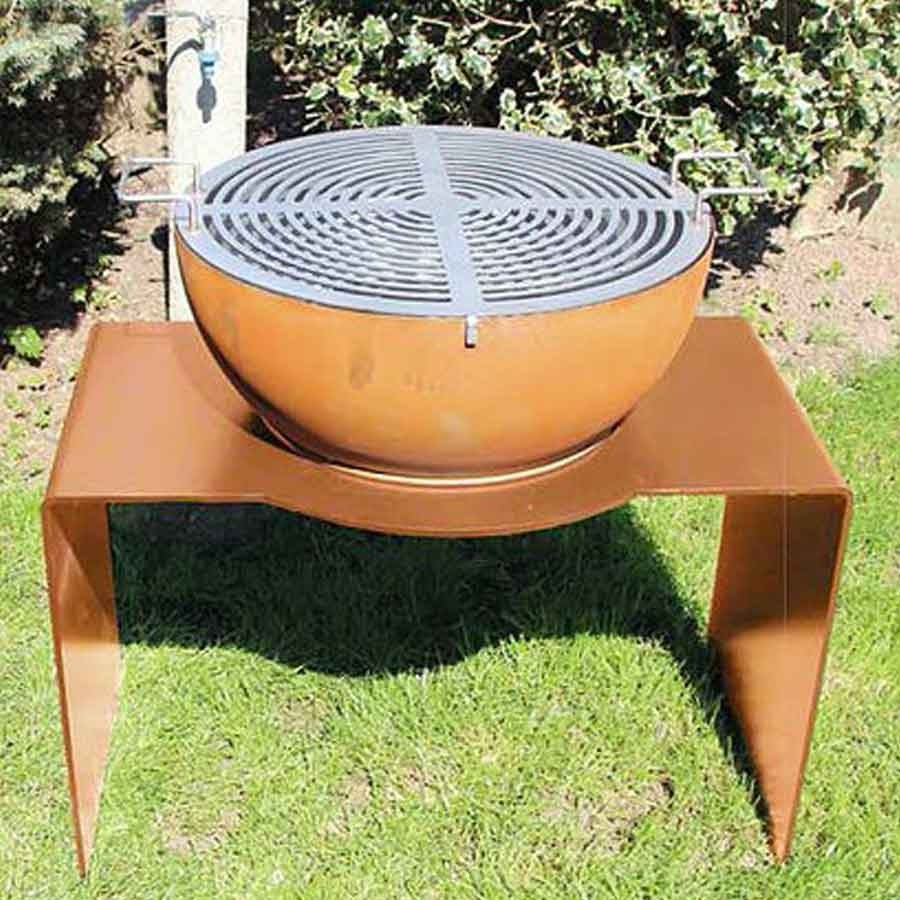 LAFERRO ITALY Barbecue Orchidea 60 Ruggine