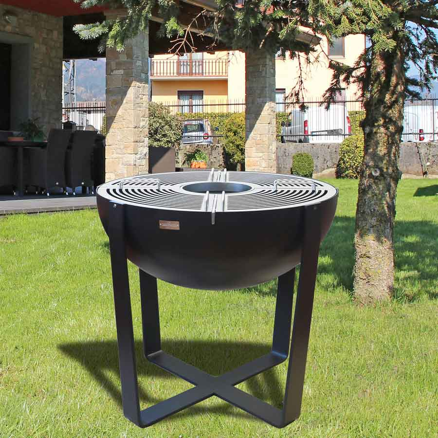 LAFERRO ITALY Barbecue Iris 80 Antracite