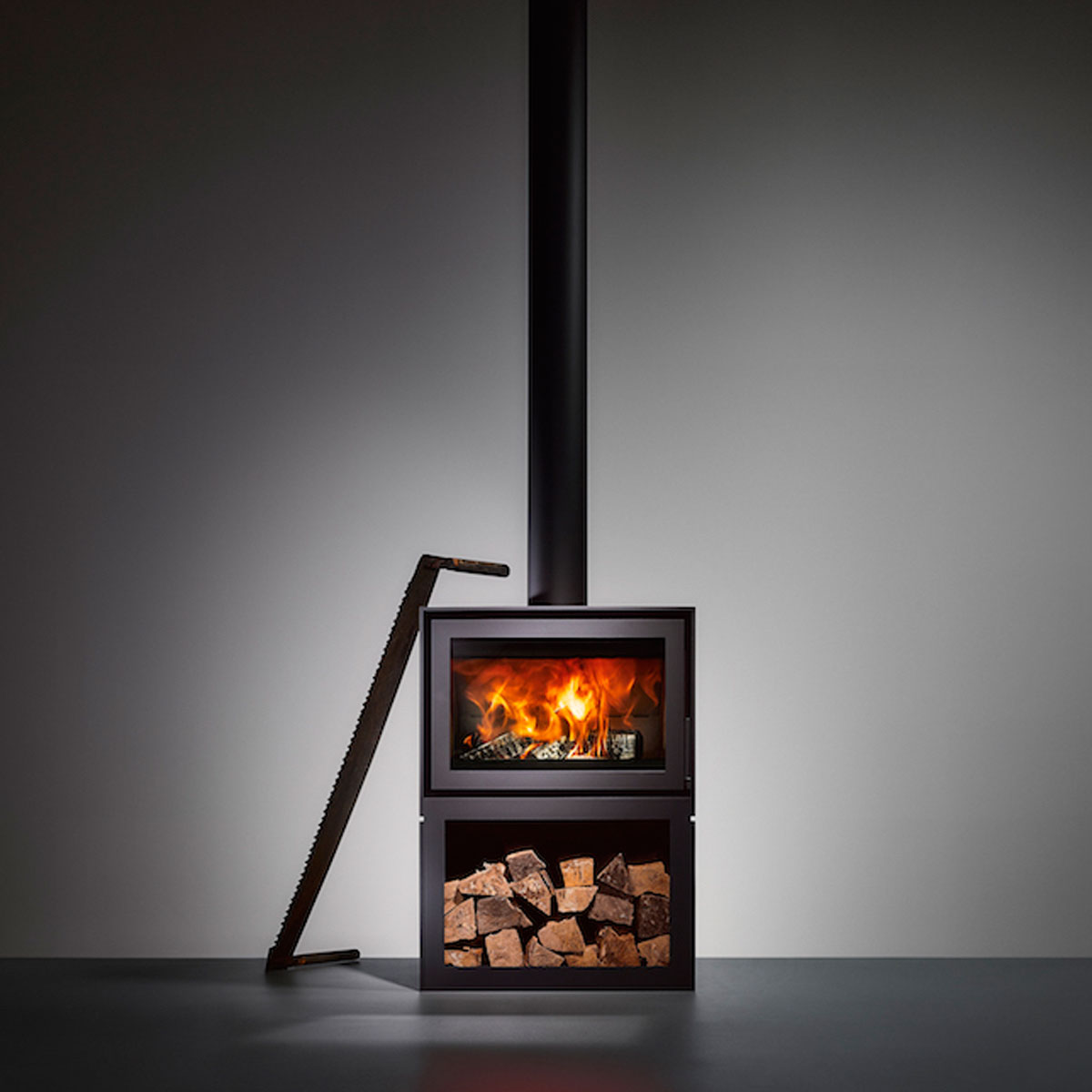 Bellfires Holland Gas Stove 65 Stand