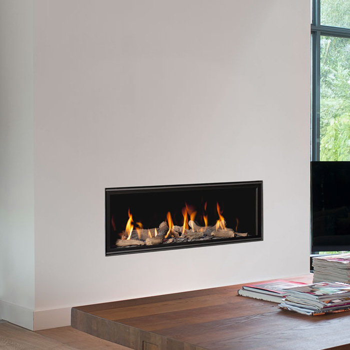 BELLFIRES HOLLAND Gas Fireplace Horizon Bell Medium 3, Floating F, P