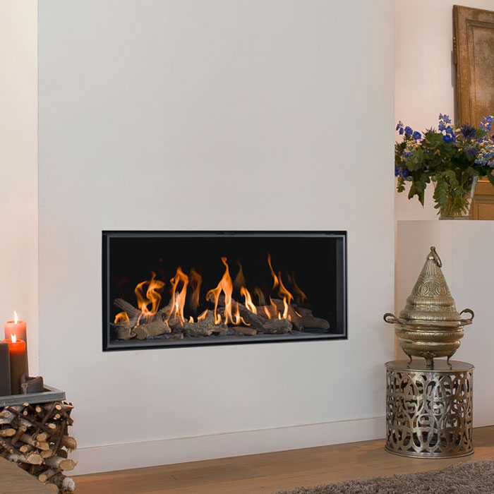 BELLFIRES HOLLAND Gas Fireplace Horizon Bell Small 3, Floating F, Pa