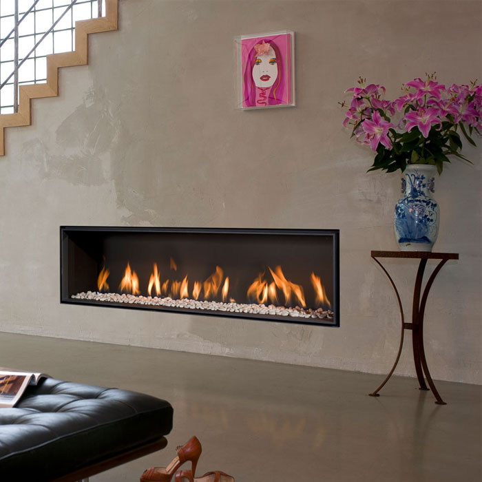 BELLFIRES HOLLAND Gas Fireplace Horizon Bell XL3, Floating Frame, Pa