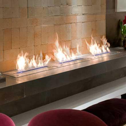 Bio-Ethanol, Wood and Gas : Fireplaces : Cheminee : Stones : Lebanon