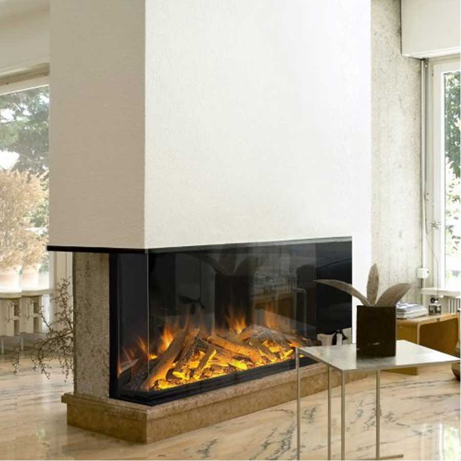 EVONIC Electric Fireplace Corner Left 156