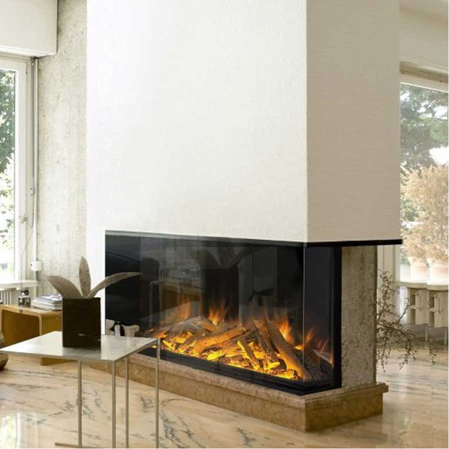 EVONIC Electric Fireplace Corner Right 156