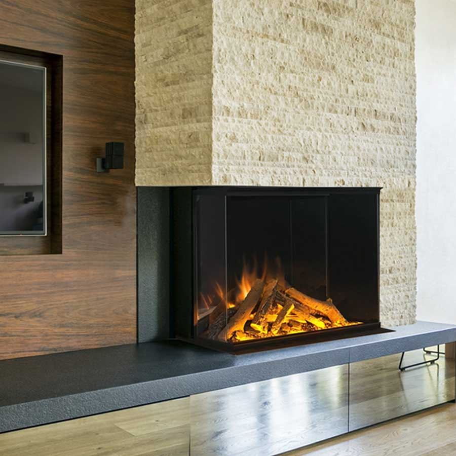 Electric Fireplace Corner Left 80