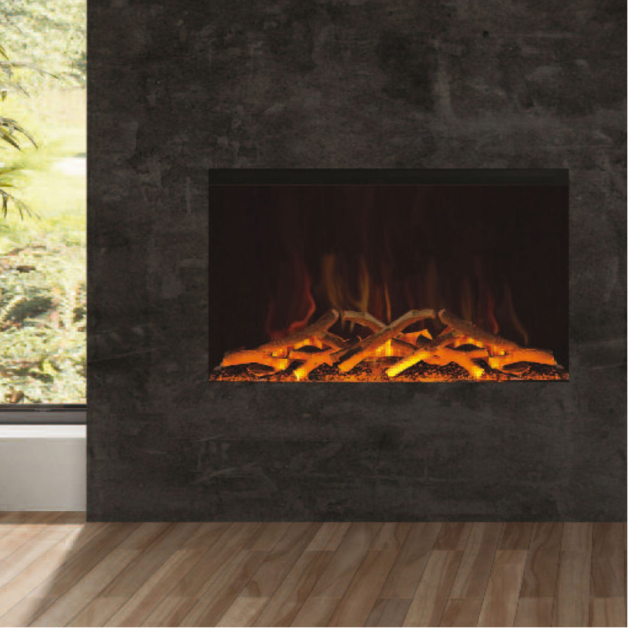 EVONIC UK Electric Fireplace Horizontal 90