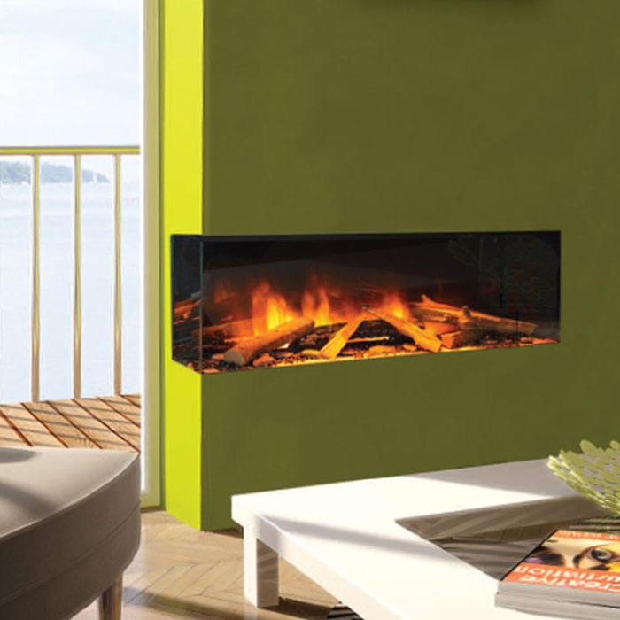 EVONIC Electric Fireplace Corner Left 103