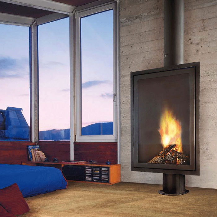 FOCUS Wood Fire Frontal Eurofocus 951