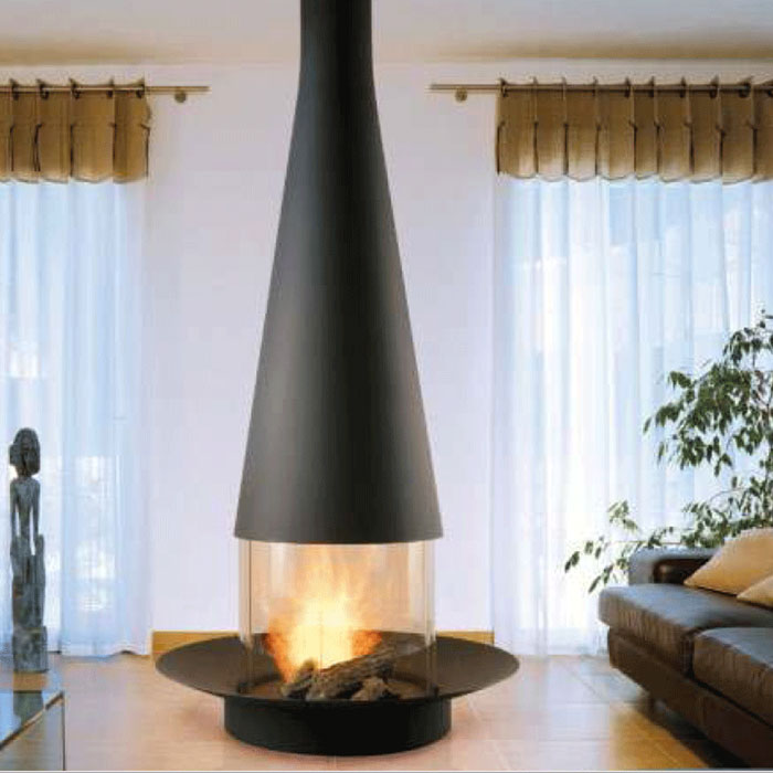 FOCUS Wood Fireplace Central Filiofocus 1600 Glassed