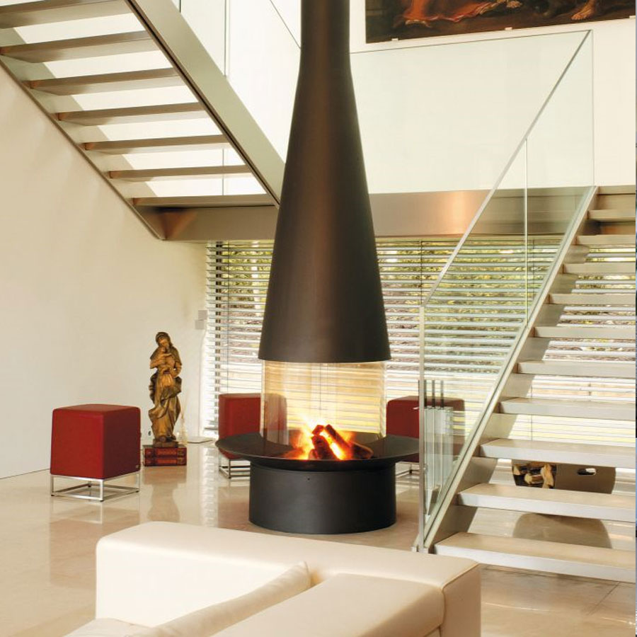 FOCUS Gas Fire Central Filiofocus 2000