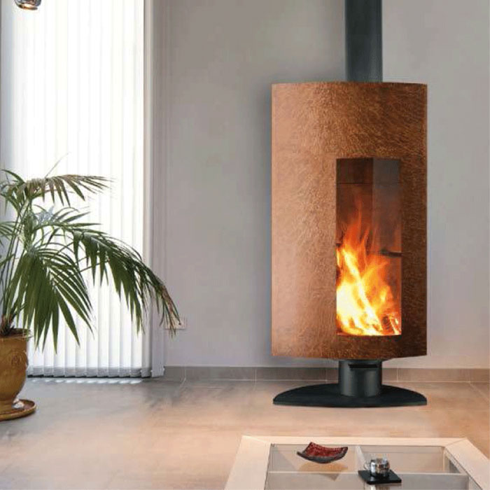 FOCUS Wood Fire Frontal Stofocus 2