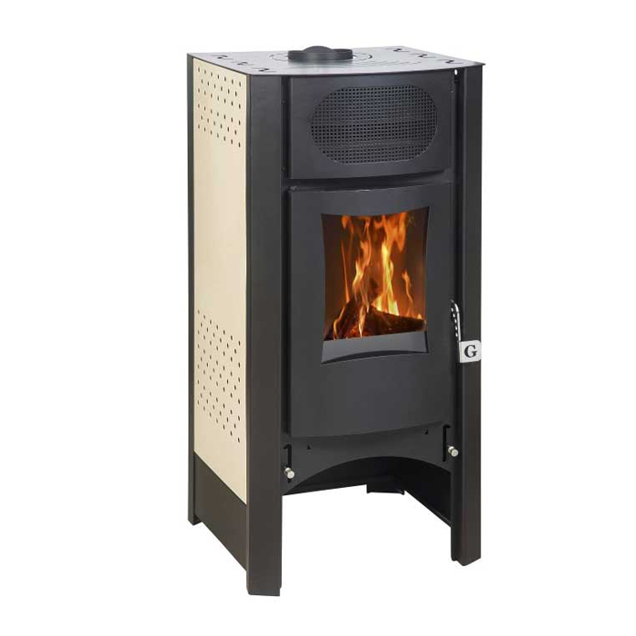 GEKAS GREECE Wood Stove SG 1100 White