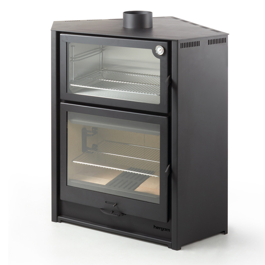 NESTOR SPAIN Wood Stove Corner with Oven Arce