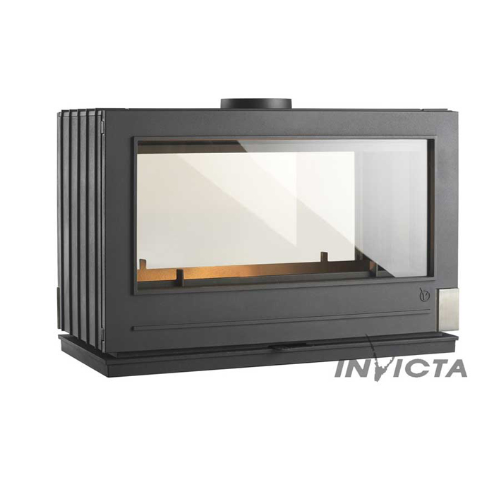 INVICTA Wood Stove Aaron Tunnel