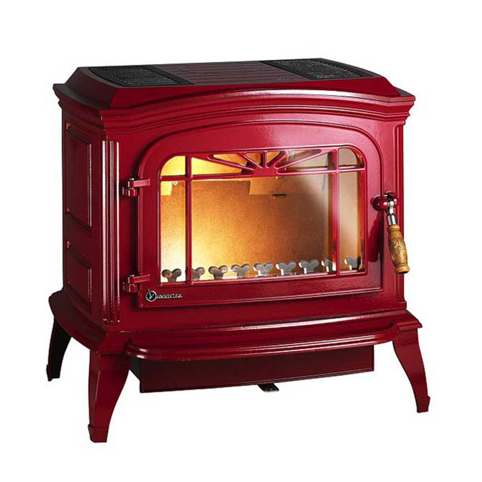 INVICTA FRANCE Wood Stove Bradford Red