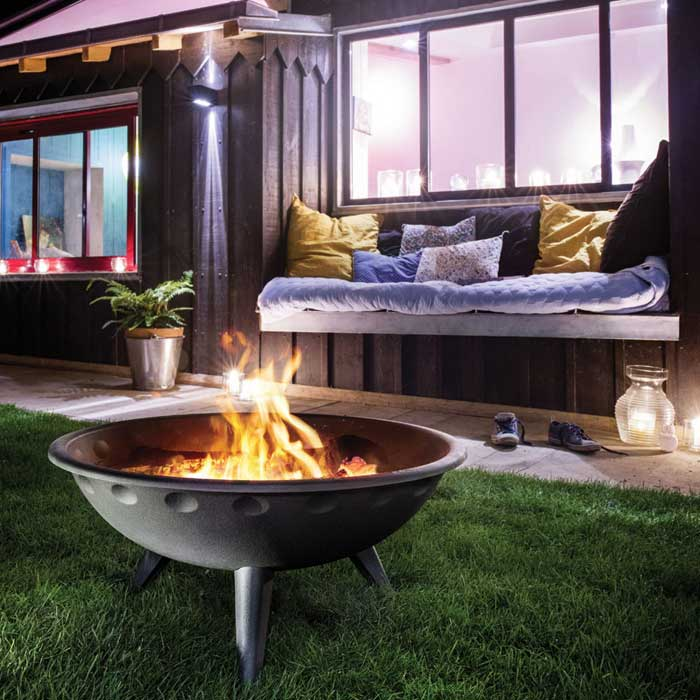 INVICTA Outdoor Fireplace Brasero Iowa
