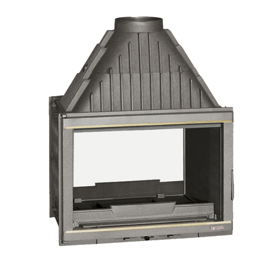 INVICTA FRANCE Wood Fireplace Tunnel 70 Laudel