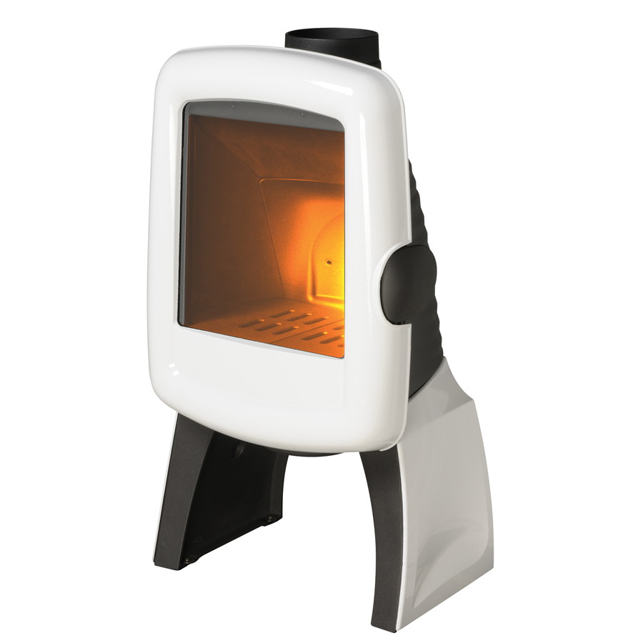 INVICTA FRANCE Wood Stove Elo M Blanc