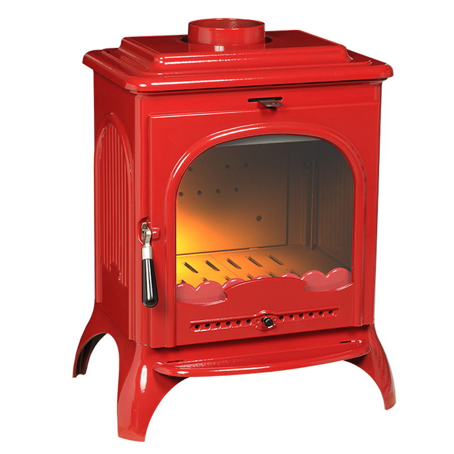 INVICTA Wood Stove Seville Red