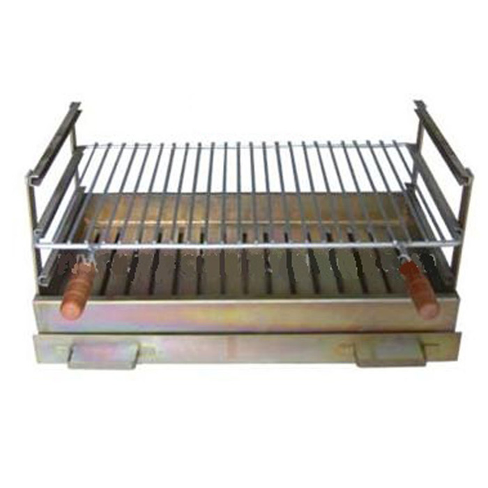 JV BBQ Grill 60 X 40 cm Recessed With Chicken
