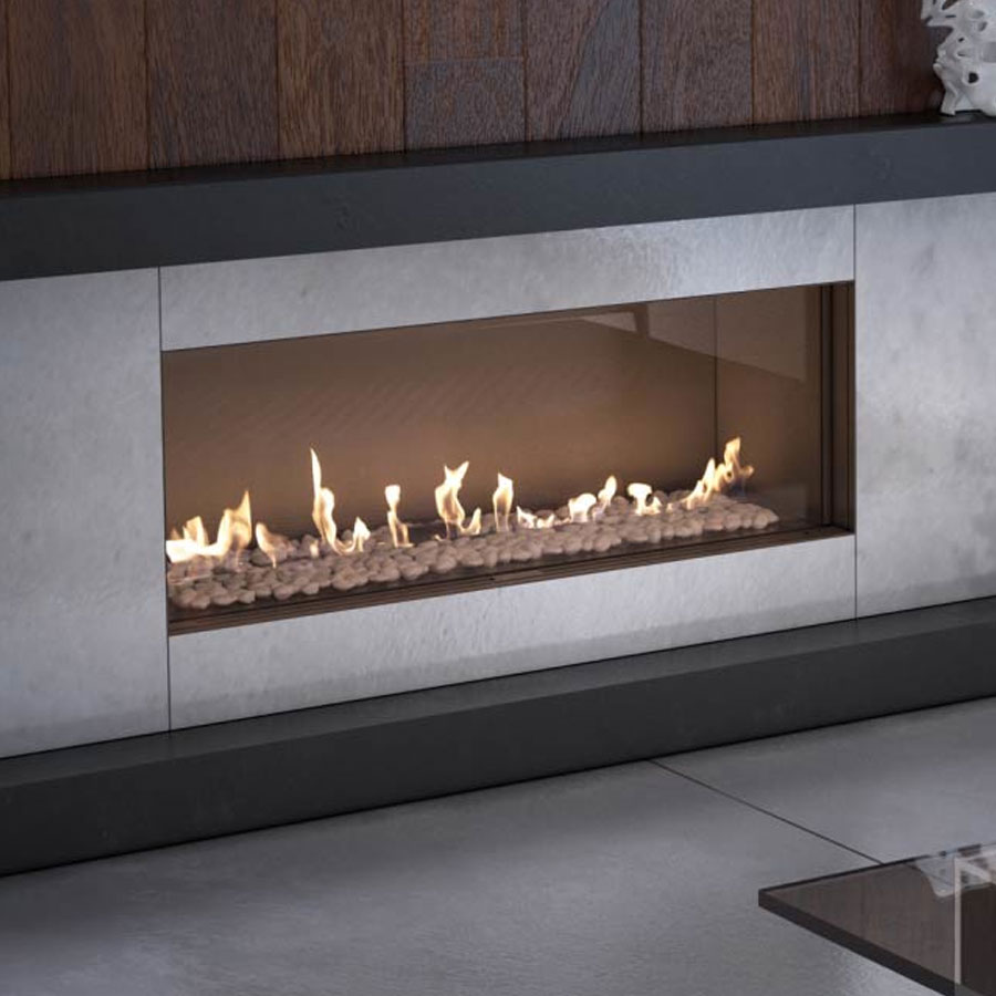 KRATKI POLAND Gas Fireplace Horizon 100