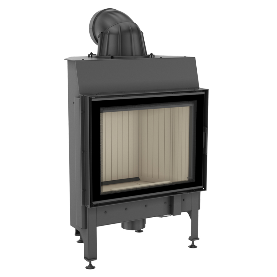 KRATKI POLAND Wood Fireplace Nadia 10 Kw Lateral