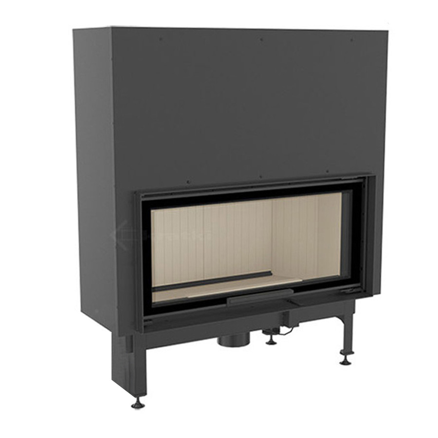 KRATKI Wood Fireplace Nadia 14 Kw Raisable