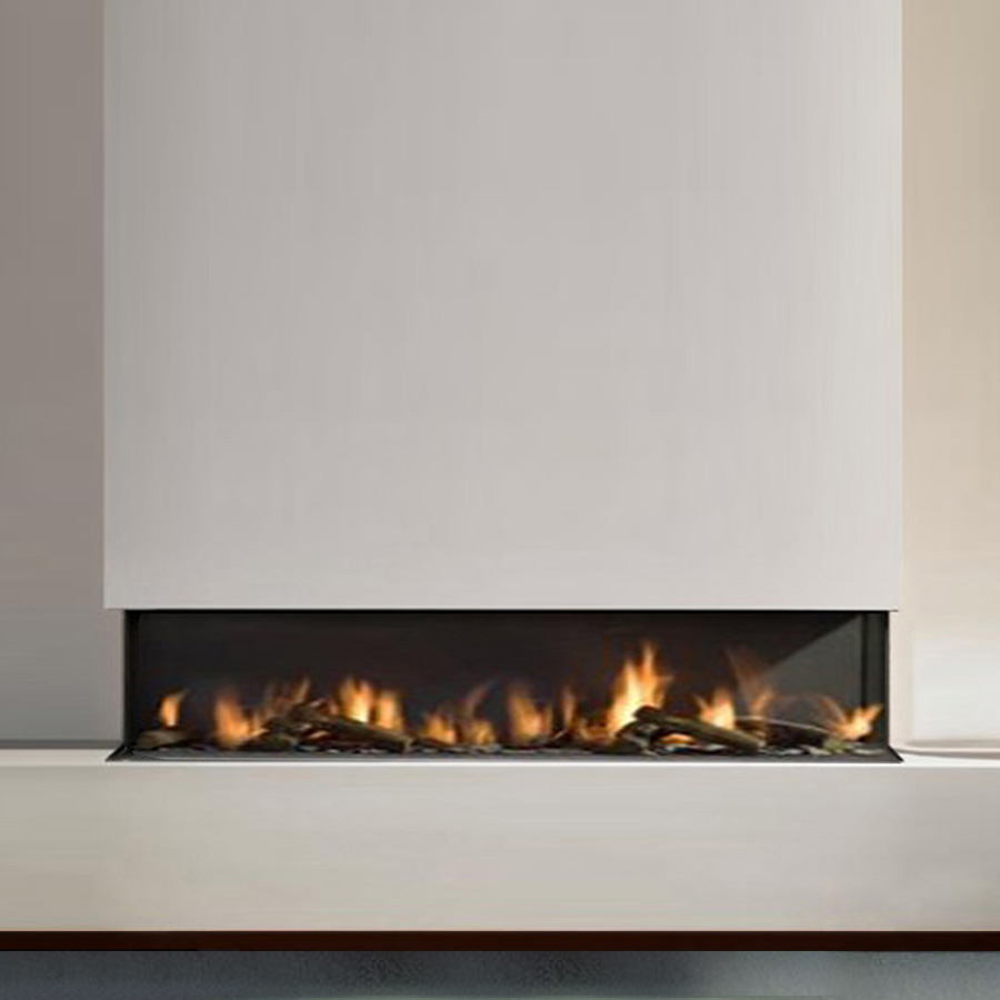 Open Firebox 3 sided 180 cm