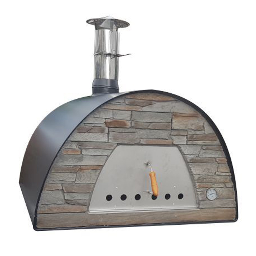 IMPEX PORTUGAL Wood Oven Maximus Black 70 X 70