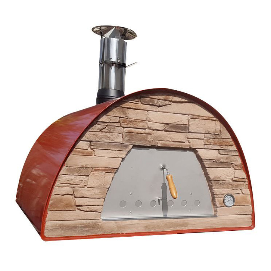 IMPEX PORTUGAL Wood Oven Maximus Red 70 X 70