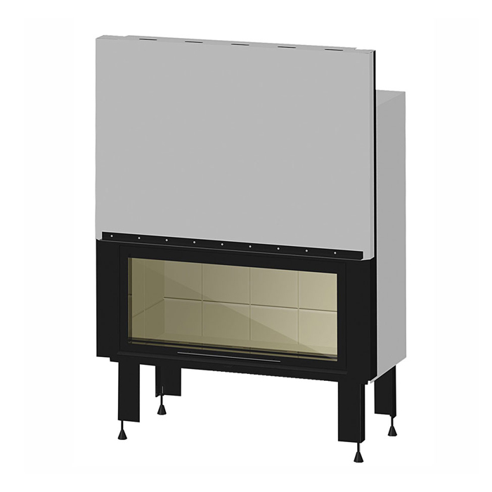 REGAL GREECE Wood Fireplace Flat 105 Minimal