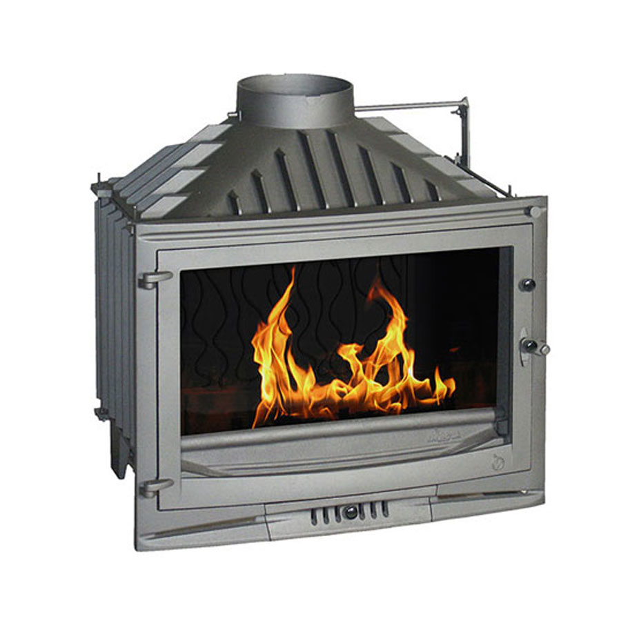 INVICTA FRANCE Wood Fireplace 70 Selenic With valve Lateral