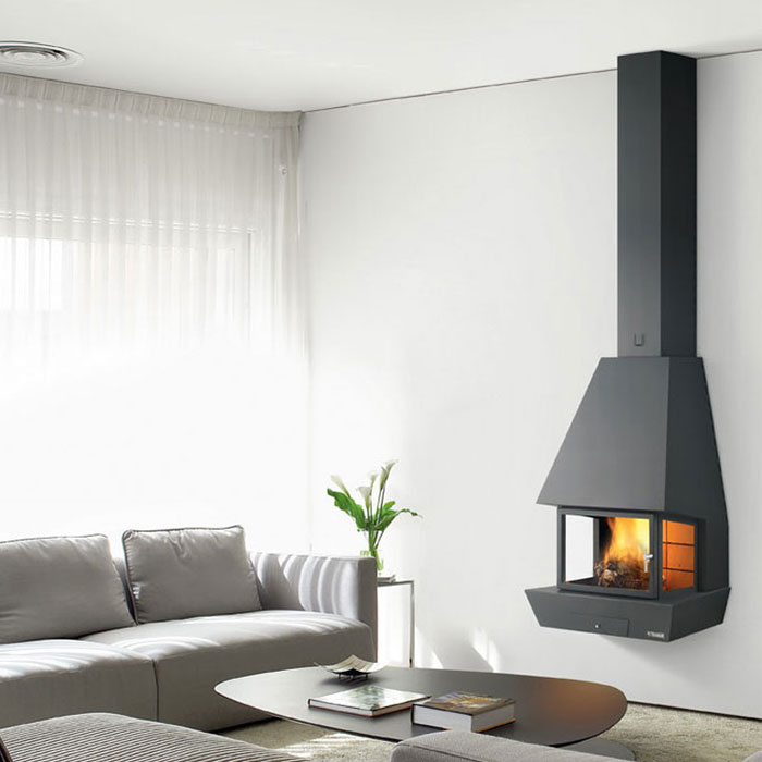 TRAFORART SPAIN Wood Fireplace Frontal Rac