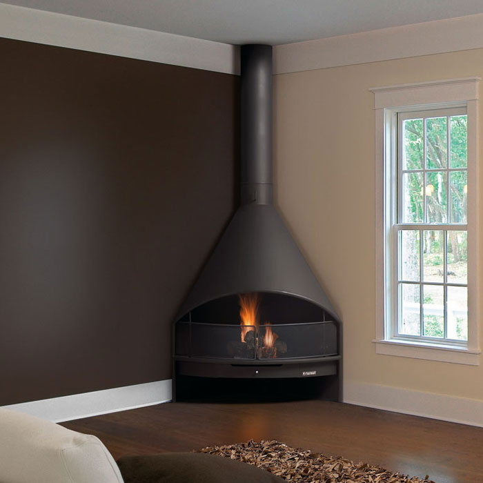 TRAFORART SPAIN Wood Fireplace Santiago Corner