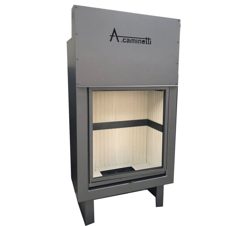 ACAMINETTI Wood Fireplace Vertical 80 x 70